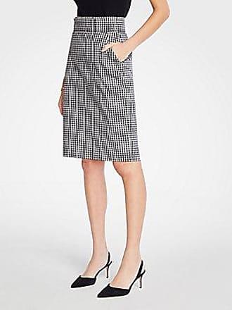 ANN TAYLOR Tall Gingham Pencil Skirt