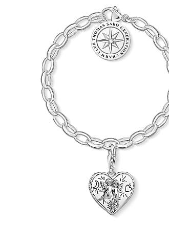 Thomas Sabo Thomas Sabo Charm bracelet white SET0554-643-14-L17V