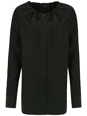 Alcaçuz Camisa Lapa com ajuste - Preto