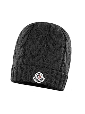 b3cb1baf3de Moncler Kids Cable-Knit Virgin Wool Beanie Hat