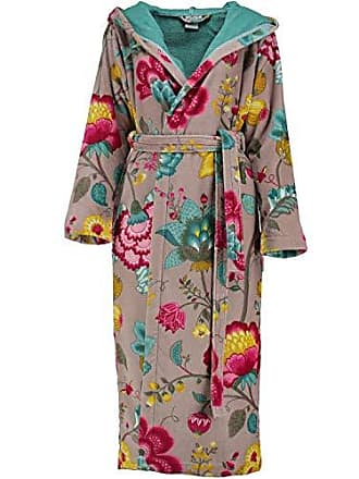 6b622993582c0f Pip Studio Bademantel Floral Fantasy Sauna Frottee Khaki Größe M