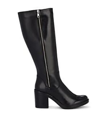 d160809434c Barneys New York Womens Leather Knee Boots - Black Size 7
