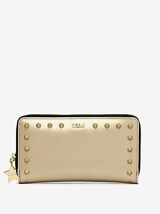 gum medium size satin stud wallet