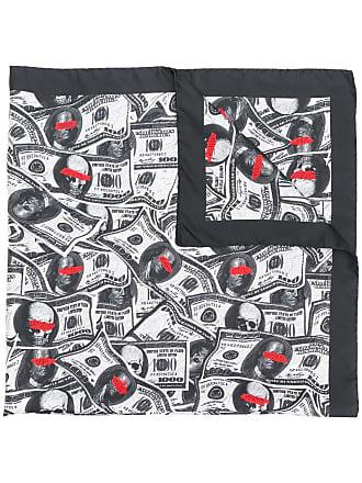Philipp Plein Lenço Dollar - Preto