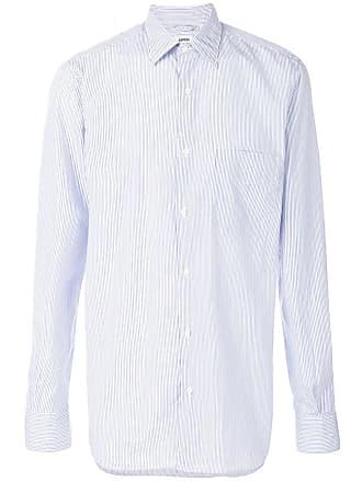 Aspesi Camisa listrada - Azul