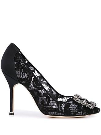 b63b962e57ea5 Black Manolo Blahnik® High Heels: Shop up to −51% | Stylight
