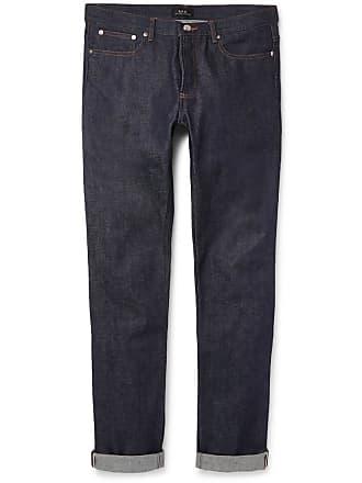 A.P.C. Petit New Standard Skinny-fit Dry Selvedge Denim Jeans - Indigo