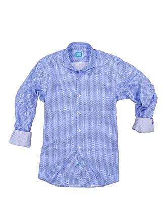 Panareha SAGRES printed shirt blue