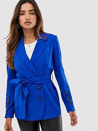 Unique21 Unique21 - Blazer con cintura-Blu