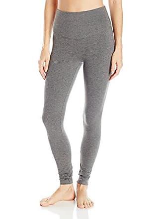 Yummie Tummie Womens Rachel Full Length Cotton Stretch Shapewear Legging, Heather Charcoal, X-Large