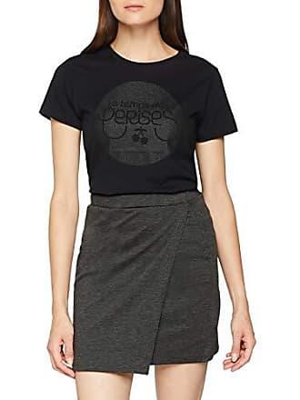 bd7844ff91e88 Le Temps Des Cerises FGLILOGO00000MC T-Shirt Femme Noir (Black 0001) X-