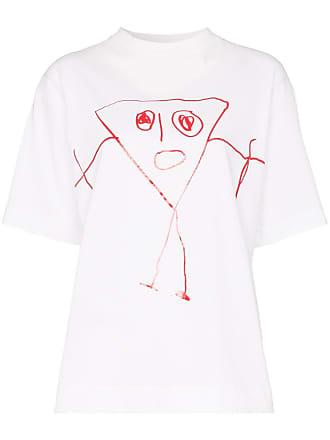 Plan C Camiseta com estampa Sketch - Branco