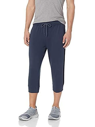 2(x)ist Mens Crop Lounge Pant Pants, Blue Nights, X-Large