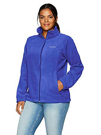 c2ead35f1f42c Columbia Womens Plus Size Benton Springs Full Zip Jacket, Dynasty, 1X