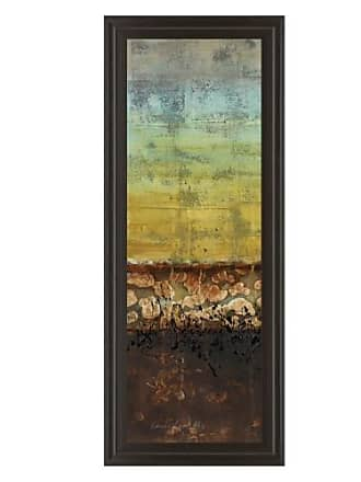 Classy Art Subterranean I Abstract Framed Wall Art - 18W x 42H in