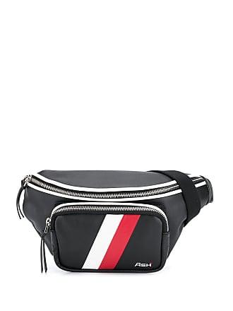 Ash logo print belt bag - Black