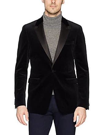Theory Mens Velvet Tux Jacket, Black, 36