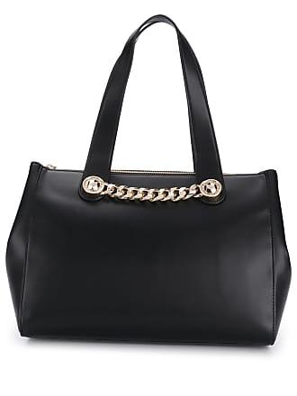 Versace Jeans Couture Bolsa tote com aplicações - Preto