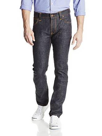 Nudie Jeans Mens Thin Finn Jean in Dry Twill, Dry Twill, 30x30