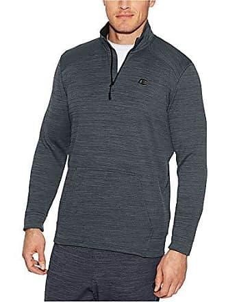 4612db27c4fa Champion Mens Premium Performance Fleece Quarter-Zip Pullover