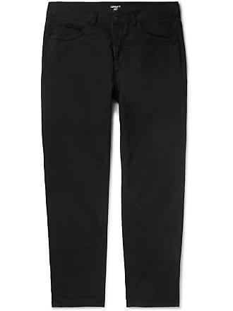 Carhartt Work in Progress Newel Tapered Cotton-drill Trousers - Black