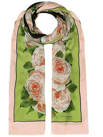 Dolce & Gabbana Printed modal and cashmere scarf