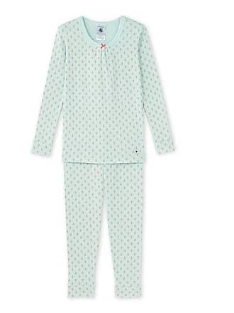 8afffbe674962 Petit Bateau Exclu web - Pyjama fille imprimé