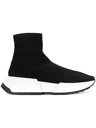 Maison Margiela ankle-length sock sneakers - Black
