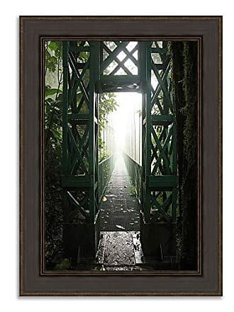 Tangletown Fine Art Destiny Framed Art Green
