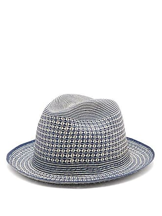 de530ca87ac1de Guanabana Geometric Straw Panama Hat - Mens - Beige Multi