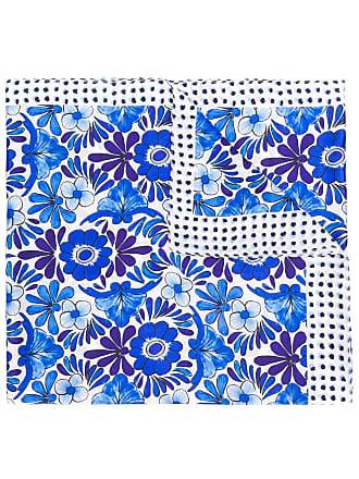Escada multi-print scarf - Azul