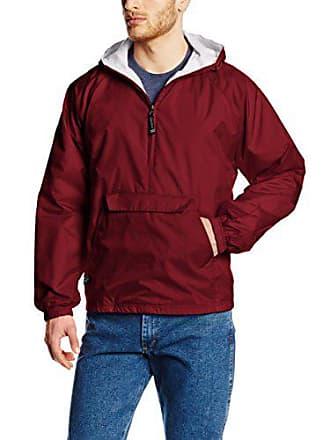 da60b996eef94 Charles River Apparel Wind & Water-Resistant Pullover Rain Jacket (Reg/Ext  Sizes