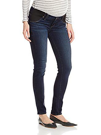 Paige Womens Maternity Verdugo Ultra Skinny with Elastic Insets in Nottingham, 29