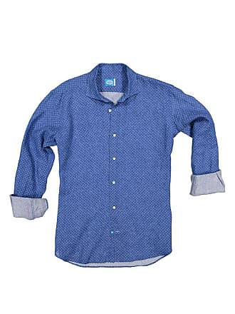 Panareha COPACABANA linen flowers shirt blue