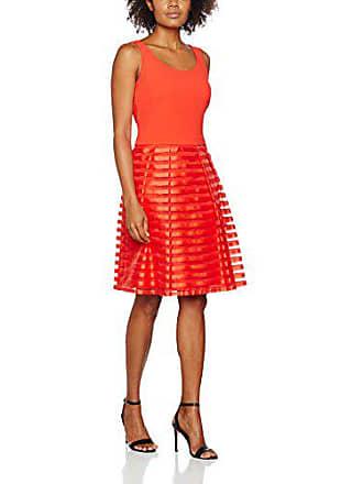 5097f1b8ad47 Vera Mont 1152 3564-Abiti da Sera e da Cerimonia Donna Rosso (Tomato