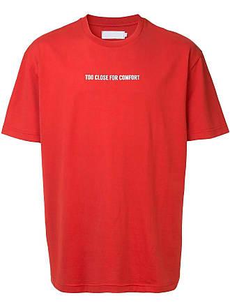 Off Duty Camiseta Too Close For Comfort - Vermelho