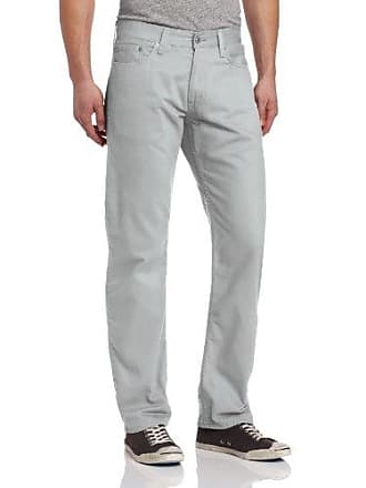 Levi's Mens 514 Straight Fit Soft Washed Twill Pant, Limestone, 36x36