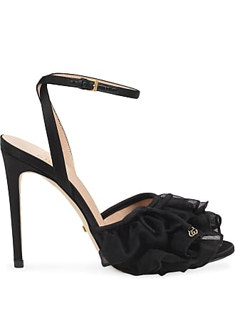 4a0eb16e837 Gucci High heel tulle sandal - Pink