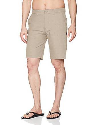 Rip Curl Mens Mirage Jackson 20 Boardwalk Hybrid Stretch Shorts, Stone 18 29