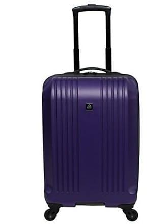 Skyline Furniture 22 Hardside Spinner Carry On Suitcase - Purple