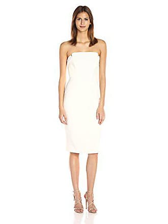 480b8b2e1a4c Jill Stuart Womens Short Strapless Crepy Dress, Off Off White, 2