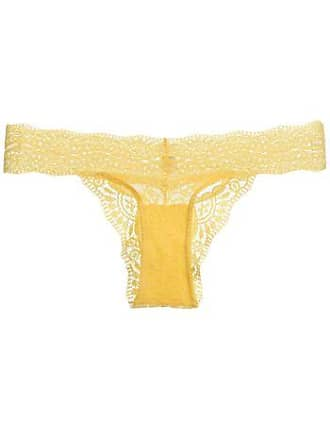 493f1b8c3 LOUNGERIE Calcinha Biquíni Renda Love Lace - Amarelo