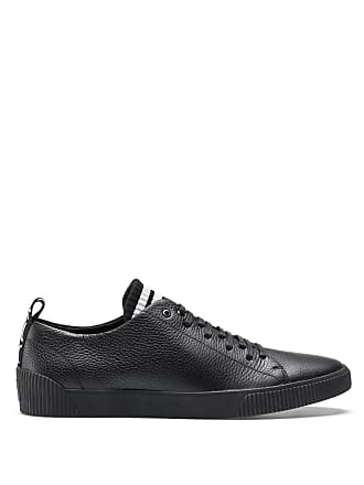 HUGO BOSS Hugo Boss Sneakers in grained leather original lace-up design 12 Black