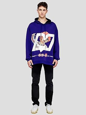 Msgm mila print hooded sweatshirt