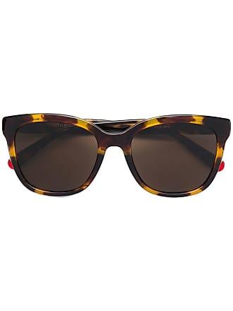 Tommy Hilfiger lunettes de soleil à monture à effet écaille de tortue -  Marron 96551108d409