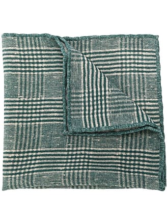 Brunello Cucinelli plaid scarf - Verde