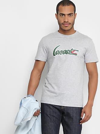 200d765d25 Lacoste Camiseta Lacoste Gola Careca New Logo Masculina - Masculino