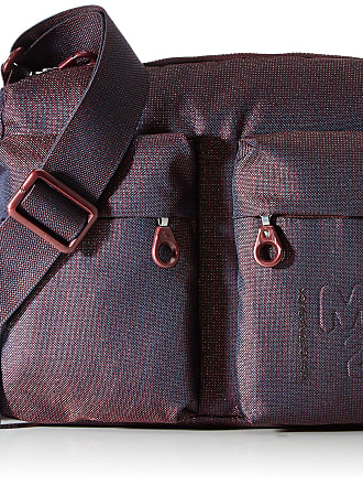 Mandarina Duck Womens MD 20 LUX Handbag, BlackBerry Syrup, Taglia Unica