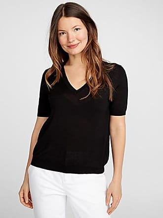 Contemporaine Ultra-thin short-sleeve sweater