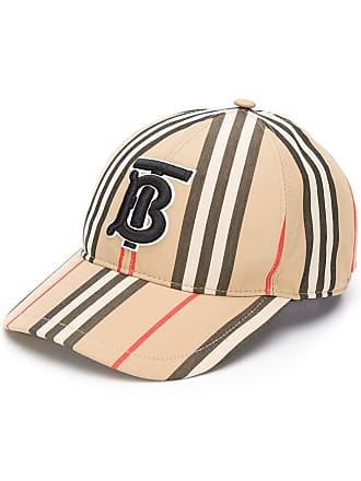 Burberry TB logo embroidered cap - Brown